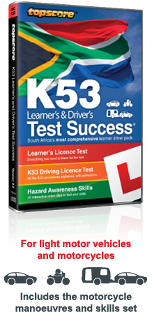 Topscore k53 Learner's & Driver's Test Success  interactive CD-ROM packaging